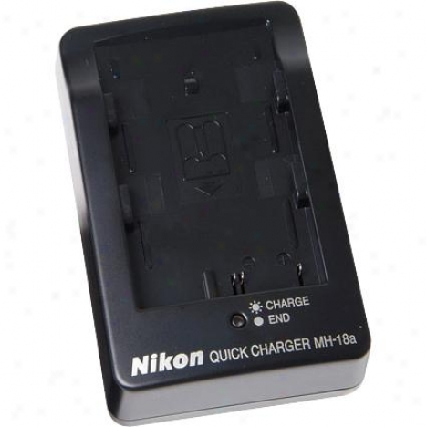 Nikon Mh-18a Quick Charger For Enel3e Or Enel3a Battery