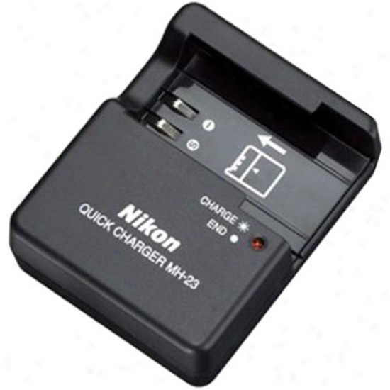 Nikon Mh-23 Replacement uQick Charger For D40, D40x Digital Cameras