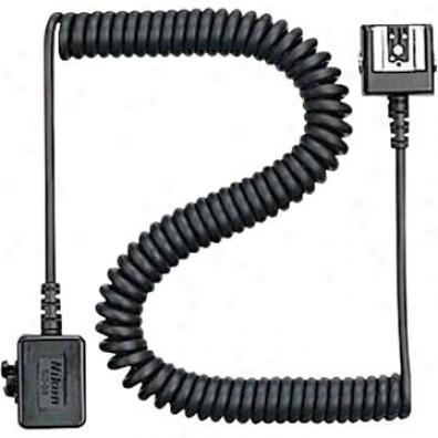 Nikon Sc-28 Ttl Coiled Remote Cord Camera Flash Accessory
