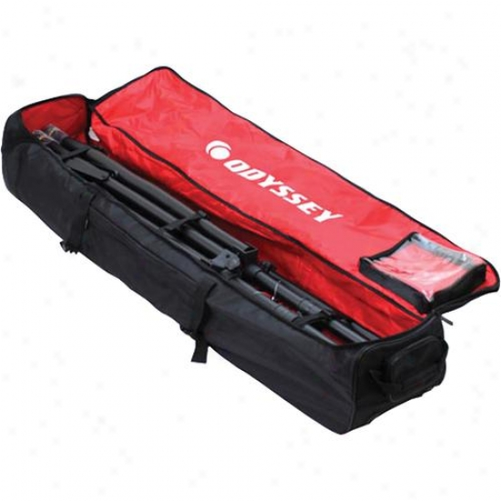 Odyssey Brltmtsw Redline Series Mobile Tripod Sysfem Wheeled Carry Bag