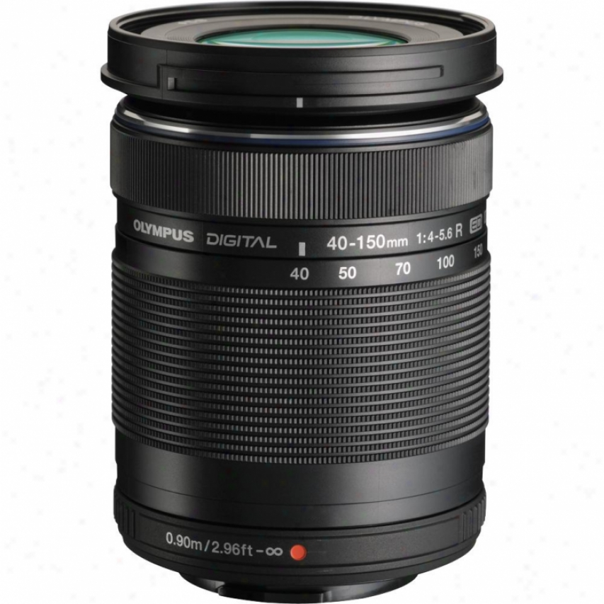 Olympus 40-150mm F4.0-5.6 M.zuiko Digital Ed Micro Four Third Lens - Black