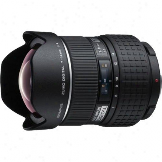 Olympus 7-14mm F/4.0 Zuiko Digital Ed 2x Supsr-wide-angle Zoom Lens