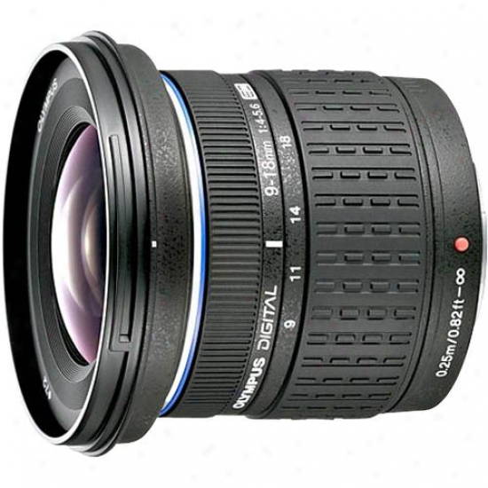 Olympus 9-18mm Zuiko Digital Ed 1:4.0-5.6 Dslr Zoom Lens