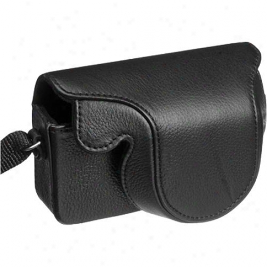 Olympus Leather Case For The Xz-1 Digital Camera Black 202528