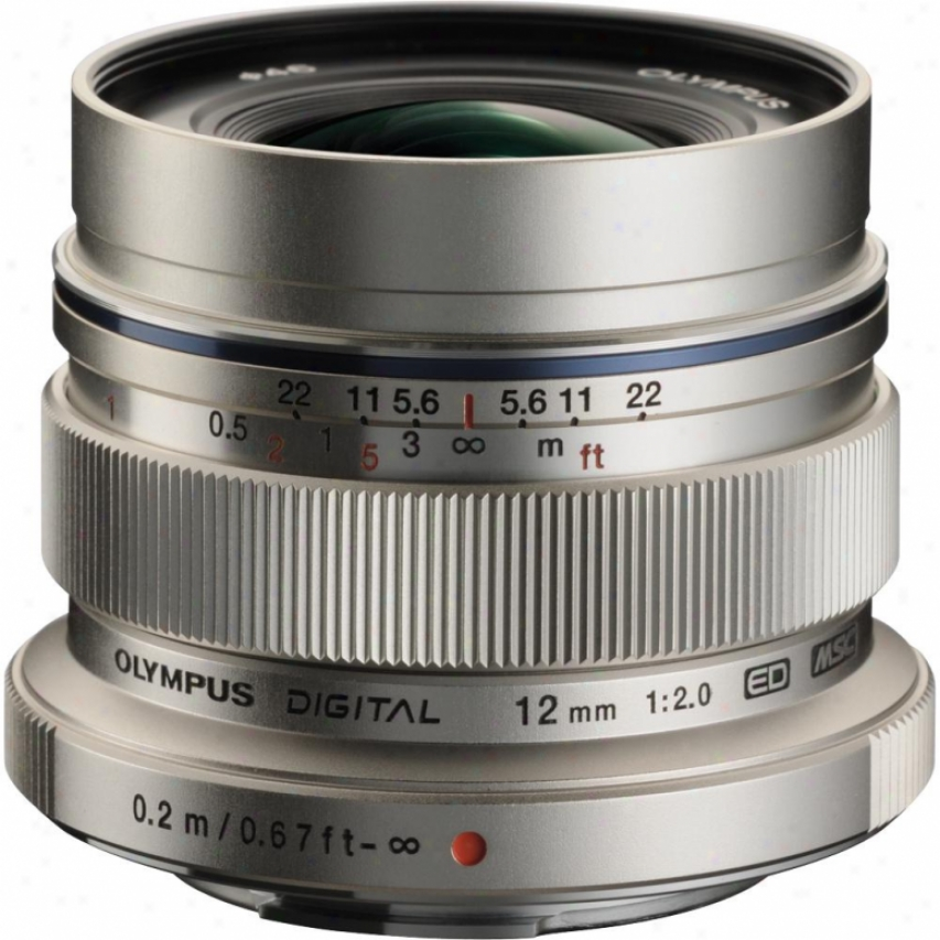 Olympus M.zuiko Digital Ed 12mm F2.0 Lens