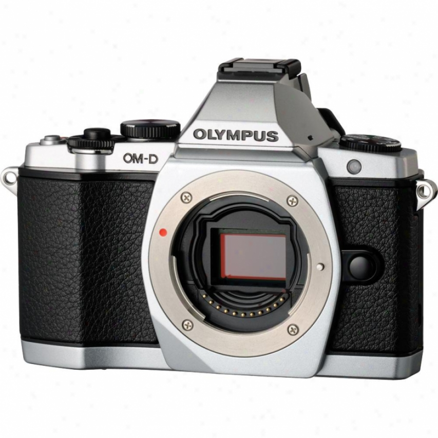 Olympus Om-d E-m5 16 Megapixel Digital Camera - Silver - Body Only