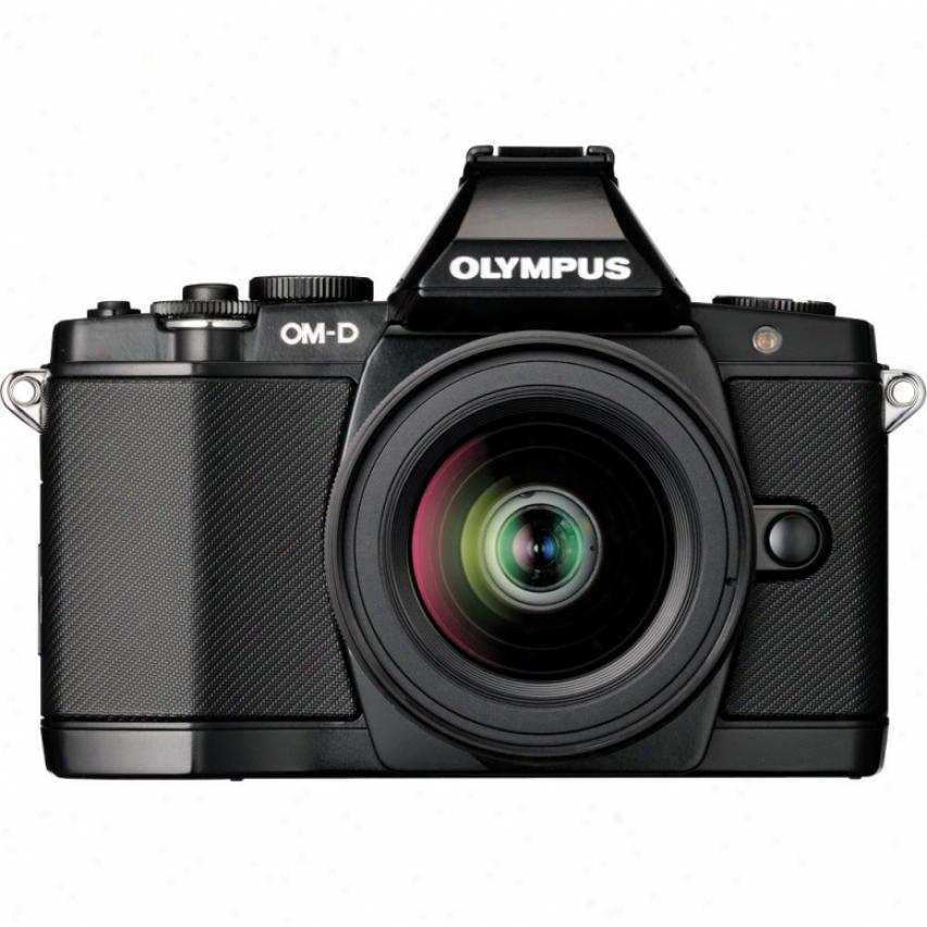 Olympus Om-d E-m5 16 Megspixel Digital Camera With Lens Kid - Black