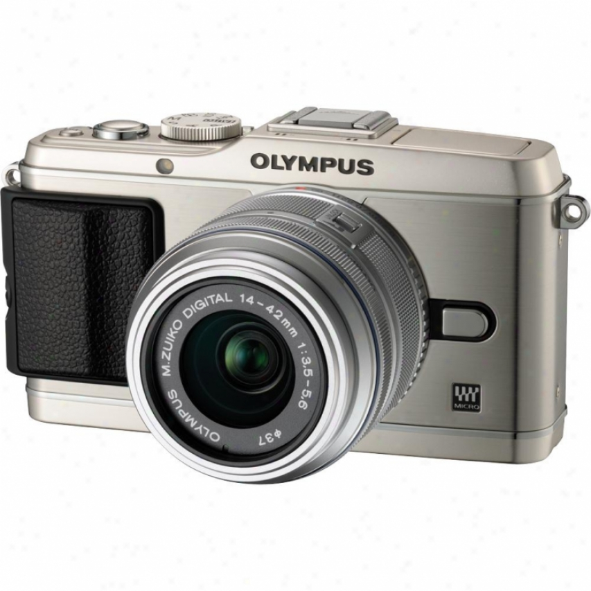 Olympus Pen Ep-3 12 Megapixel Digital Camera With Lens Kit - Soft and clear