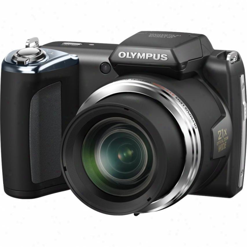 Olympus S Series Sp-620uz 16 Megapixel Digital Camera - Black