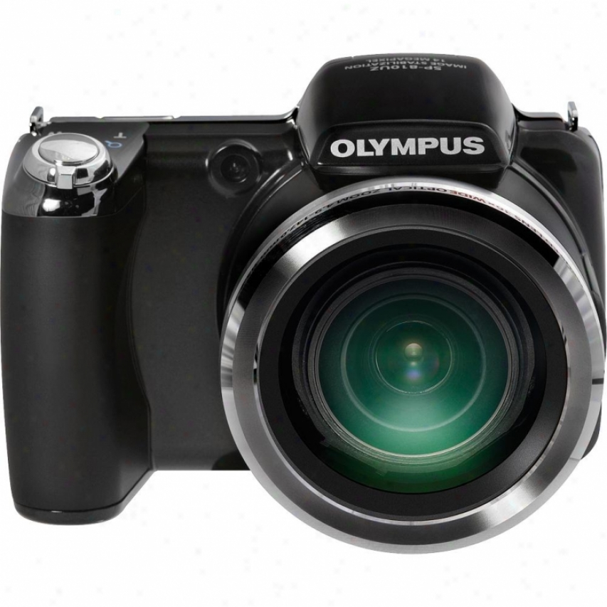 Olympus Sp-810uz 14 Megapixwl Digital Camera - Black