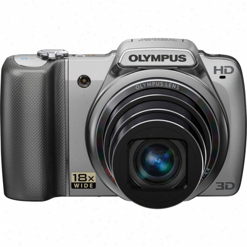 Olympus Sz-10 S Series 14 Megapixel Digitall Camera - Silvery