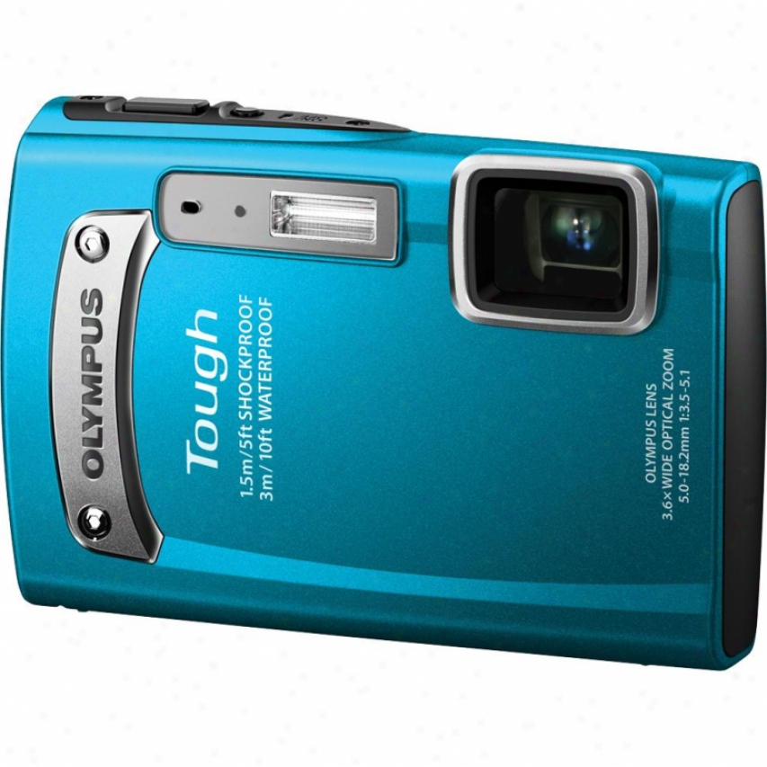 Olympus Tough Series Tg-320 14 Megapixel Digital Camera - Blue