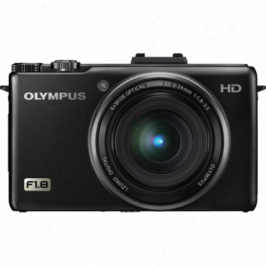 Olympus Xz-1 X Series 10 Megapixel Digital Camera - Black