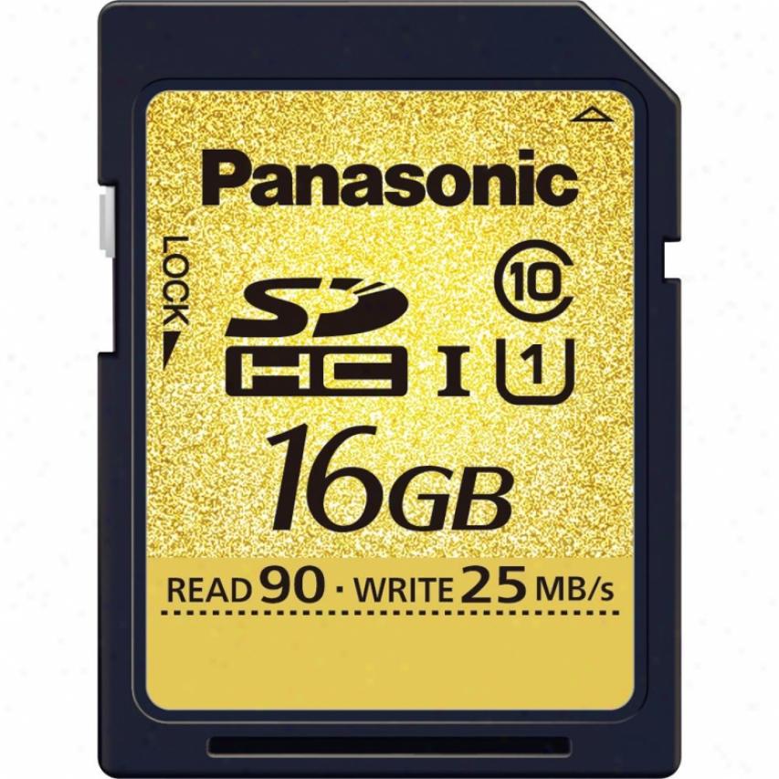 Panasonic 16gb Sdhc Memory Card - Clasa 10 - Rp-sdu16gu1k