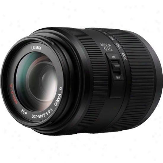 Panasonic 45-200mm F/4.0-5.6 Lumix G Vario / Mega O. I. S. Lens H-fs045200