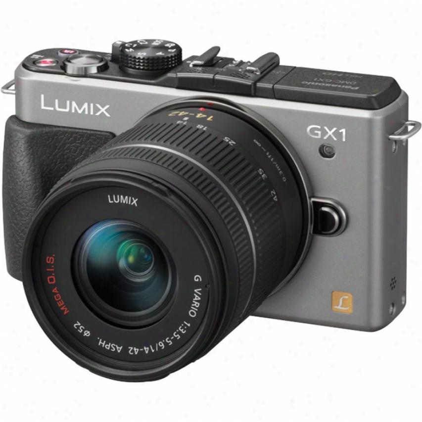 Panasonic Dmc-gx1ks Lumix Gx1 16 Megapixel Compact System Camera - Silver