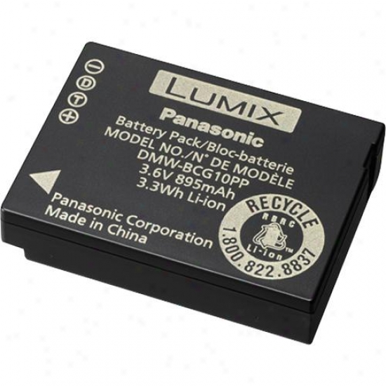 Panasonic Dmw-bcg10 Rechargeable Lithium-ion Battery