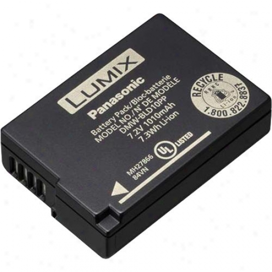 Panasonic Dmw-bld10 Rechargeable Battery For Lumix Digital Camera
