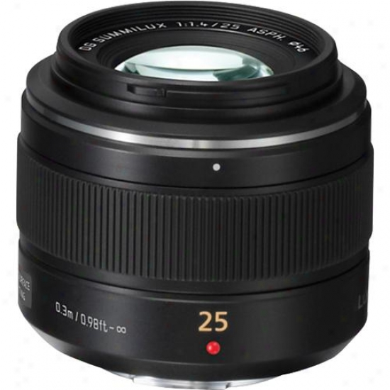 Panasonic Leica Dg Summilux 25mm F/1.4 Asph. Micro Four Thirds Lens - H-x025