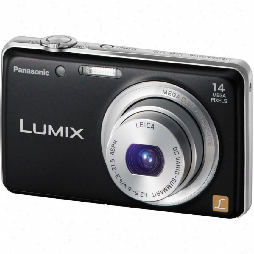 Panasonic Lumix Dmc-fh6 14 Megapixel Digital Camera - Black