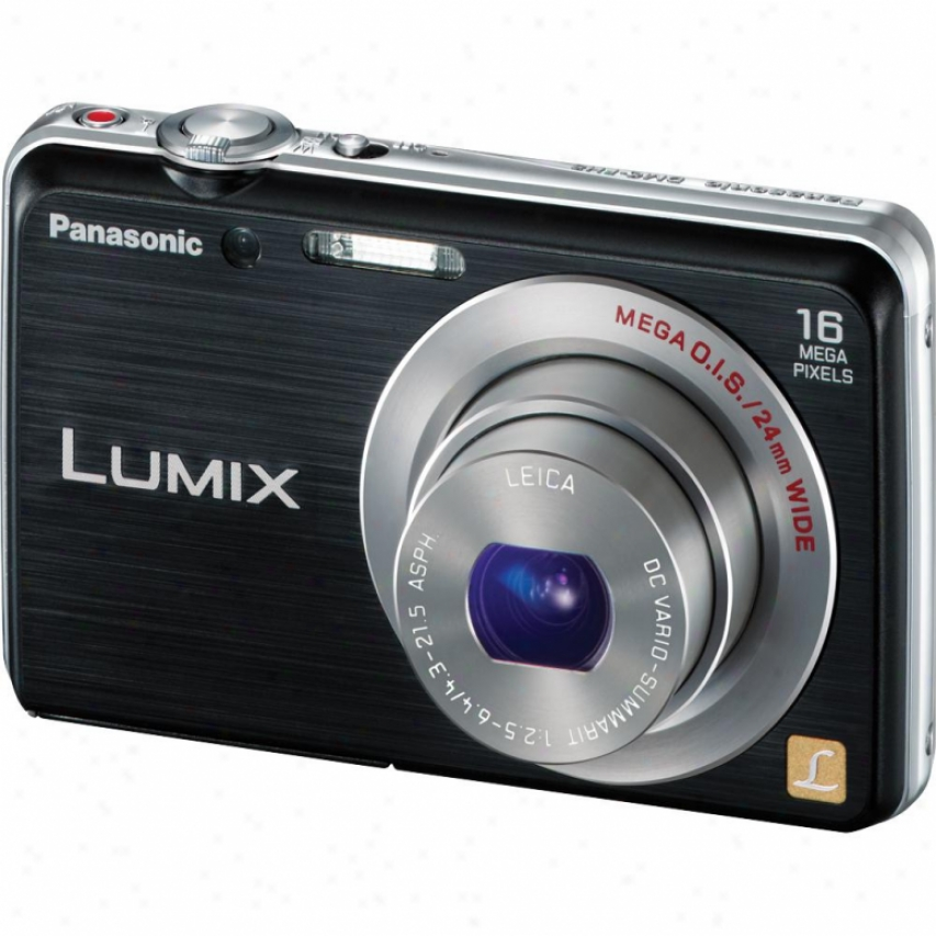 Panasonic Lumix Dmc-fh8 16 Megapixel Digital Camera - Black