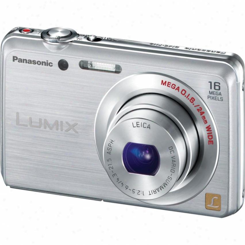 Panasonic Lumix Dmc-fh8 16 Megapixel Digital Camera - Silver
