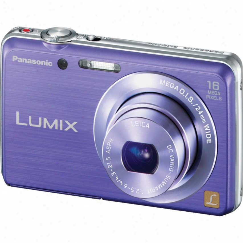 Panasonic Lumix Dmc-fh8 16 Megapixel Digital Camera - Violet