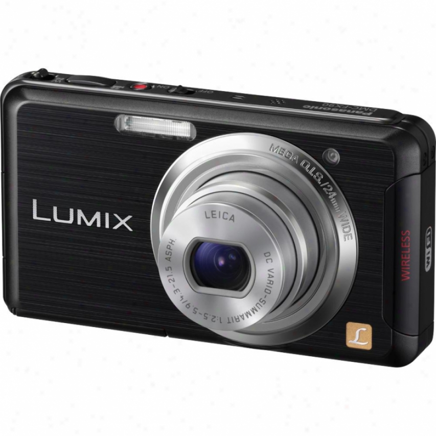 Panasonic Lumix Dmc-fx90 12-megapixel Diiital Camera - Black