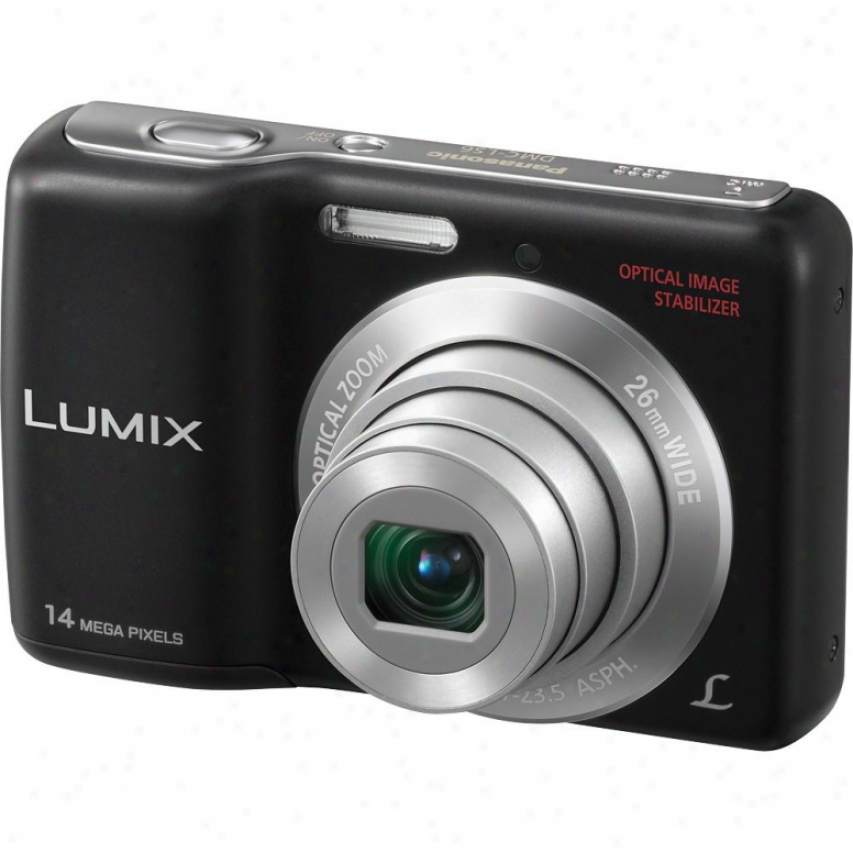 Panasonic Lumix Dmc-ls6k 14 Megapixel Digital Camera - Blsck