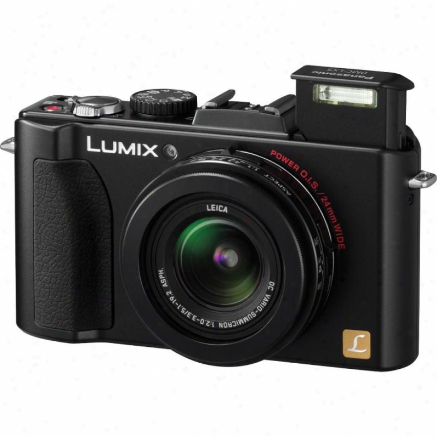 Panasonic Lumix Dmc-lx5 10.1 Mevapixel Digital Camera - Black