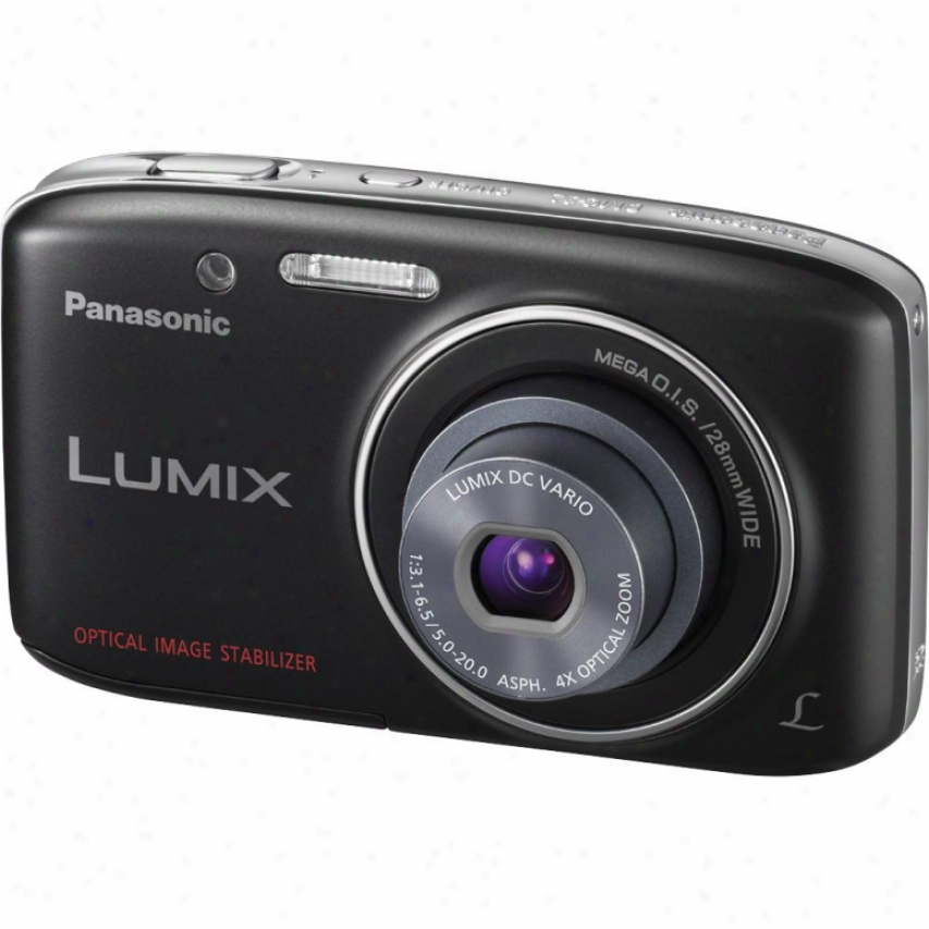 Panasonic Lumix Dmc-s2k 14 Megapixel Digital Camera - Black