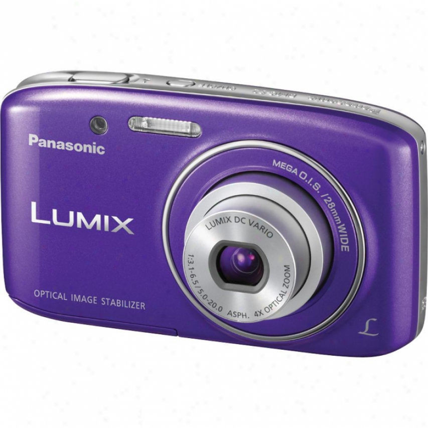 Panasonic Lumix Dmc-s2v 14 Megapixel Digital Camera - Violet
