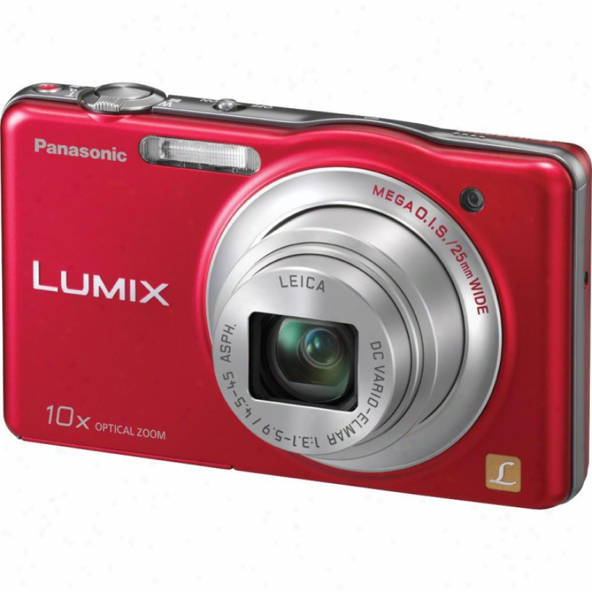 Panasonic Lumix Dmc-sz1 16 Megapixel Digital Camera - Red