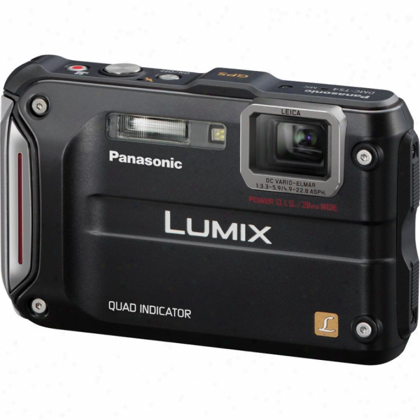 Panasonic Lumix Dmc-ts4k Tough Series 12 Megapixel Digital Camera - Blaci
