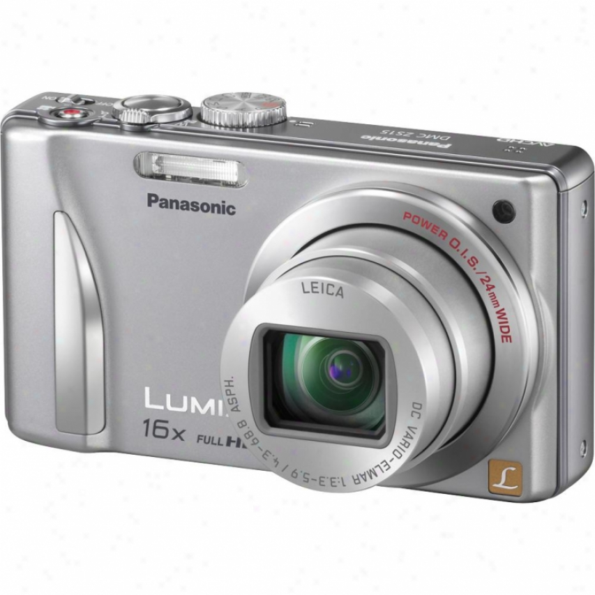 Panasonic Lumix Dmc-zs15 12 Megapixel Digital Camera - Silver