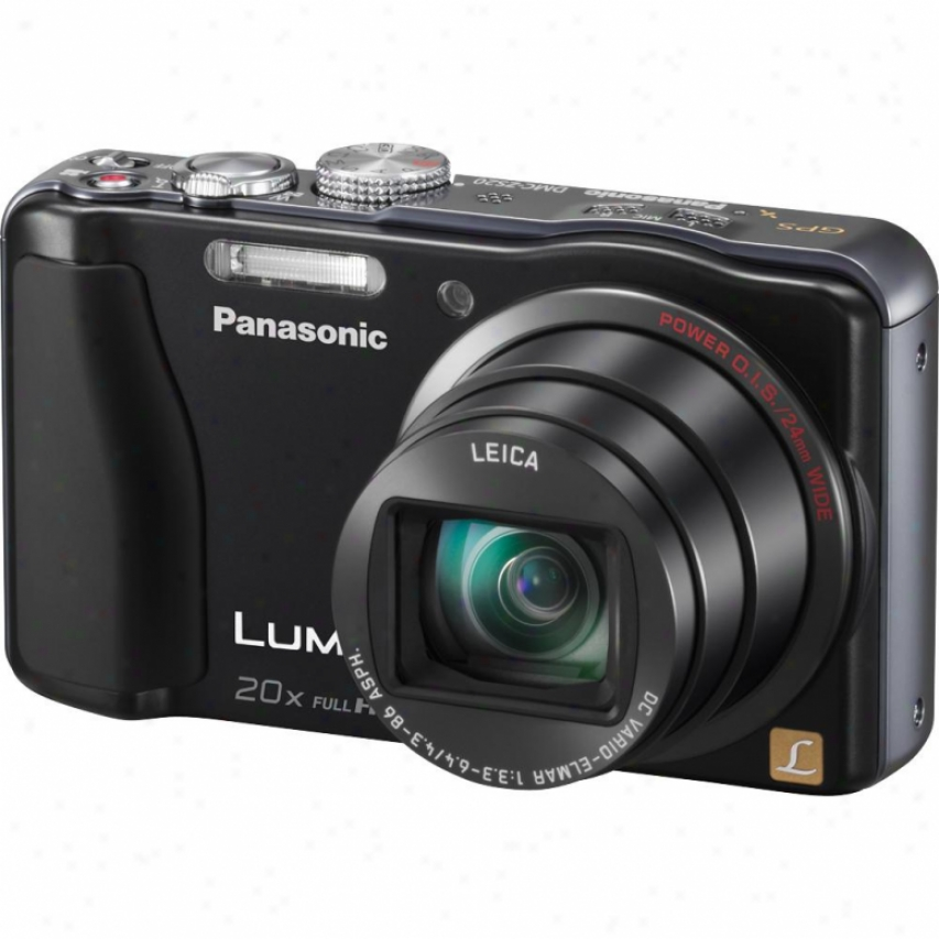Panasonic Lumix Dmc-zs20 14 Megapixel Digital Camera - Black