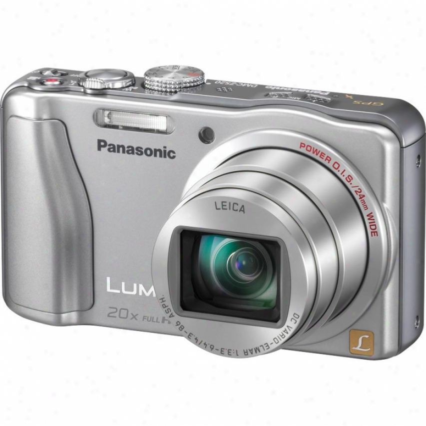 Panasonic Lumix Dmc-zs20 14 Megapixel Digital Camera - Silver