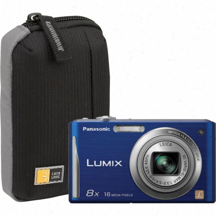 Panasonic Lumix Fh25 16.1 Megapixel Digital Camera Violin