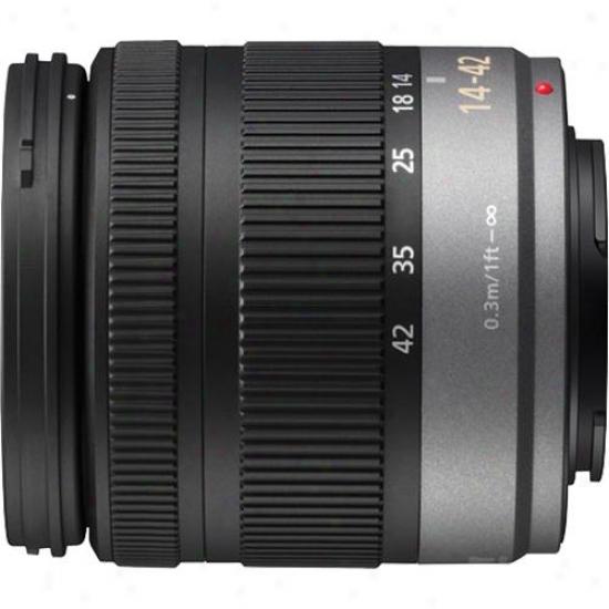 Panasonic Open Box 14-42mm F/3.5-5.6 Lumix G Vario Micro Four Thirds Lens H-fs01