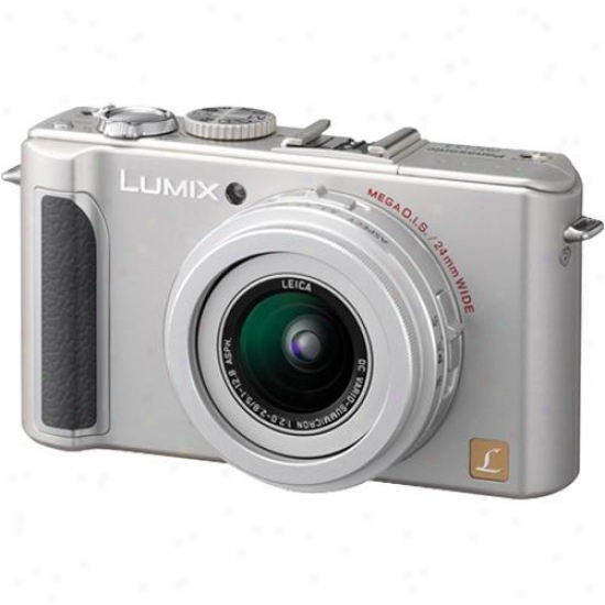 Panasonic Open Box Dmc-lx3s 10-megapixel Digital Camera - Silvery