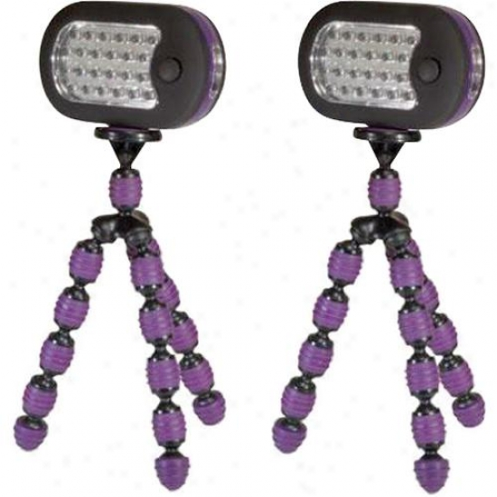 Pc Treasures Grippit! Light 2 Pack - Purple