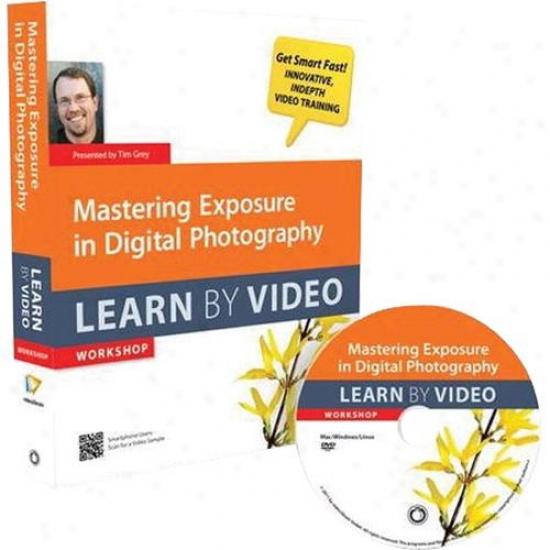 Peachpit Press Mastering Exposure In Digital Photography: Learn By Video