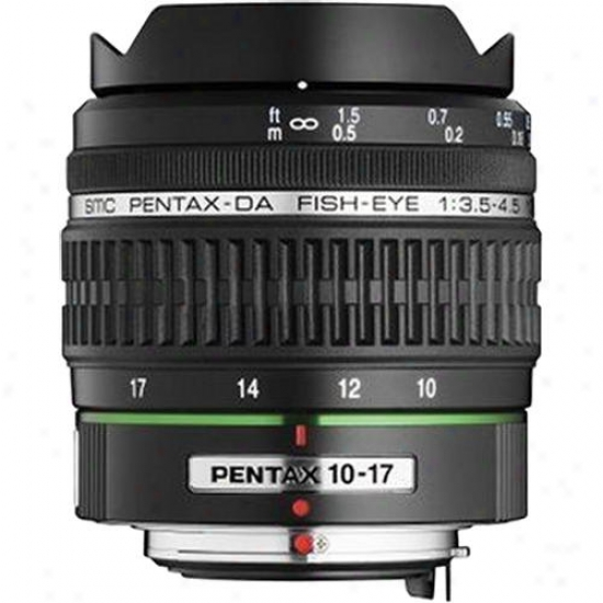 Pentax 10-17mm F/3.5-4.56 Smc P Da Fisheye Lens