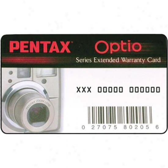 Pentax Optio 2 Year Warranty Extension