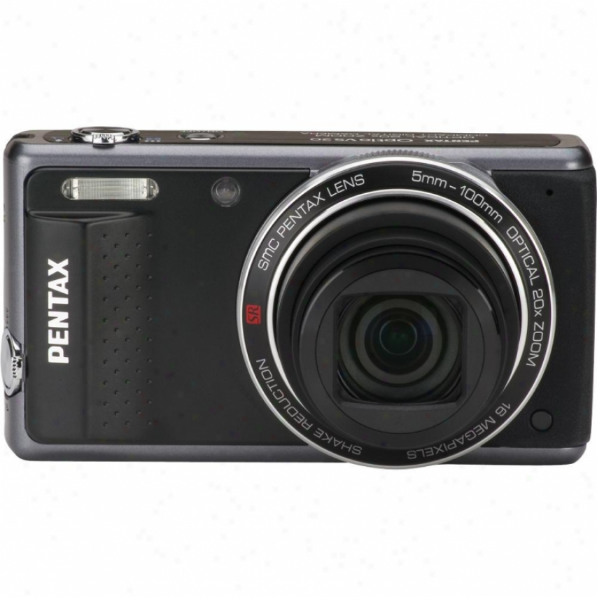 Pentax Optio Vs20 16 Megapixel Digital Camera-  Black