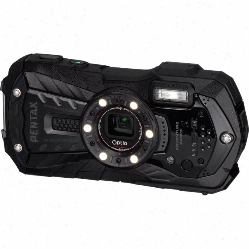 Pentaz Optio Wg-2 16 Megapixel Digital Camera - Black