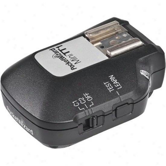 Pocketwizard Mini Tt1 Transmitter For Nikon Dslr 801-143