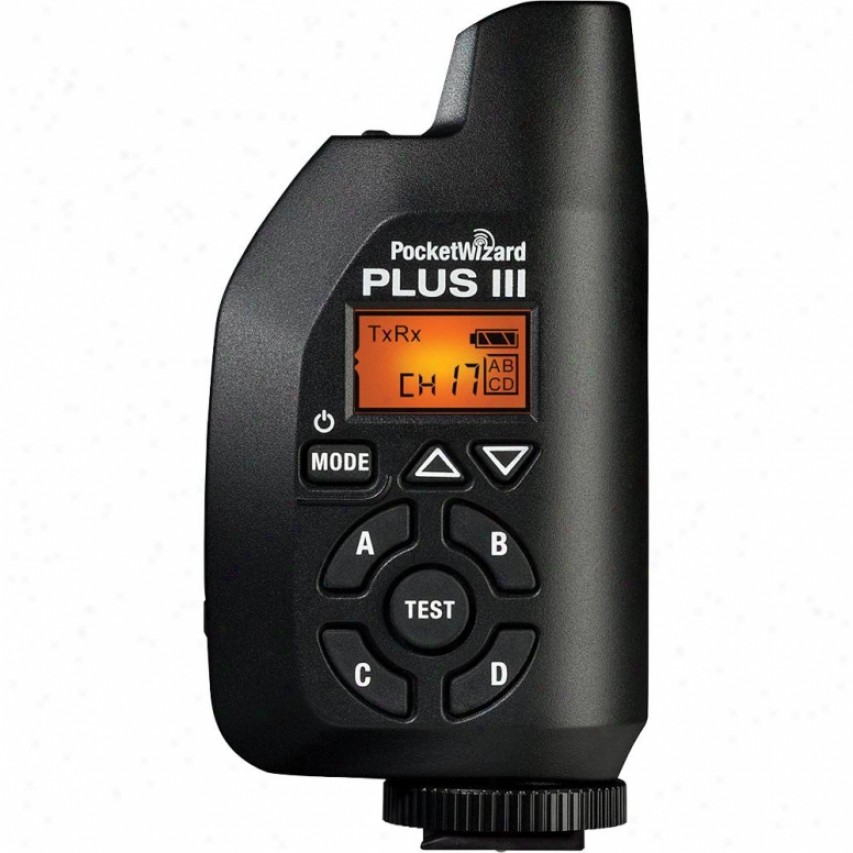 Pocketwizard Plus Iii Transceicer 801130
