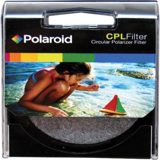 Polaroid 58mm Cpl Circular Polarizer Filter