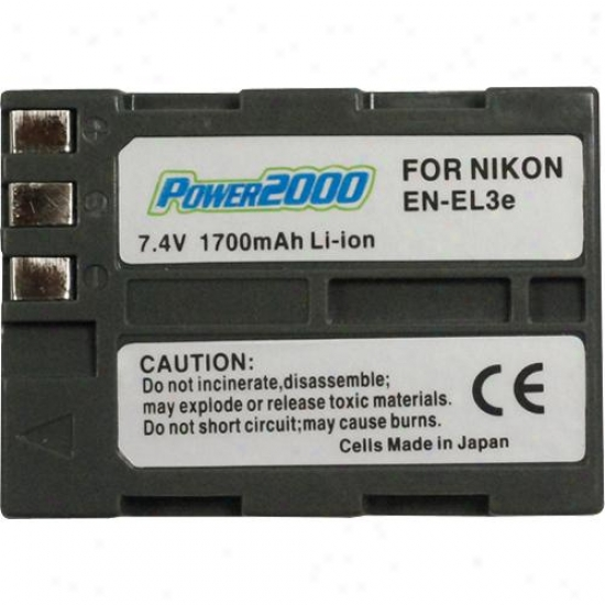 Power 2000 Acd-281 Digital Camera Battery